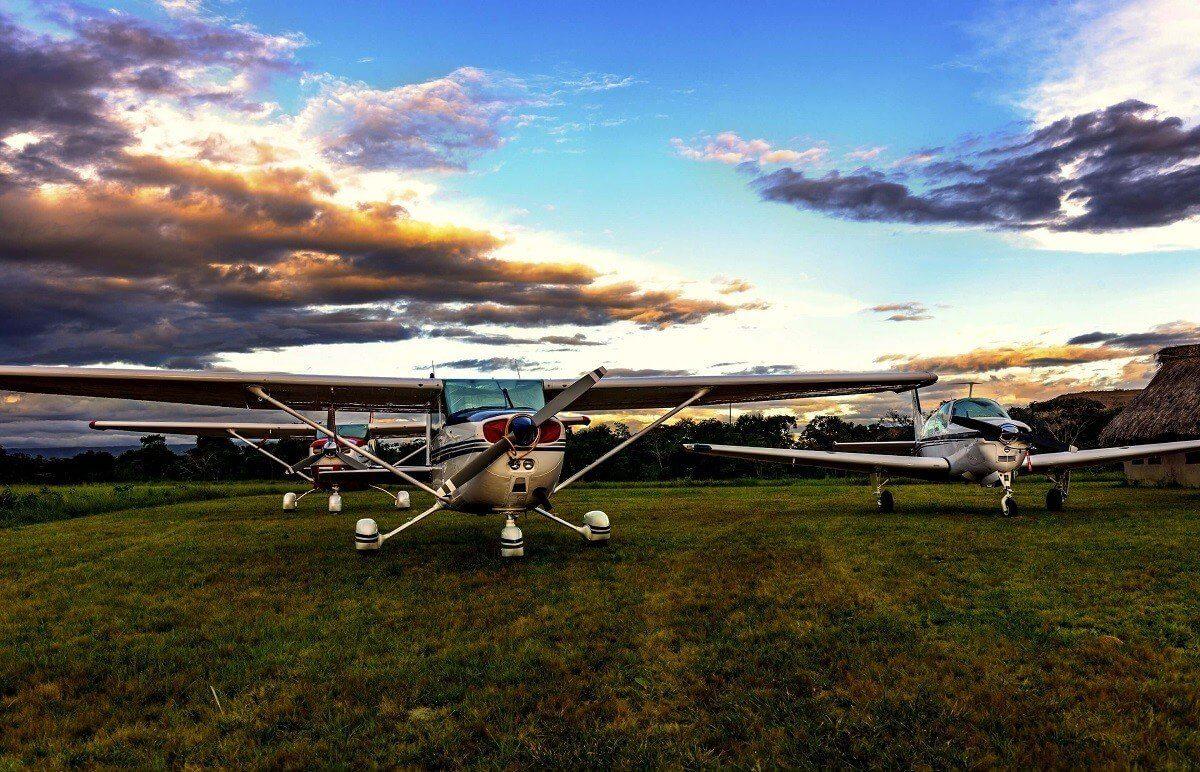 Cessna - lot widokowy nad Wrocławiem
