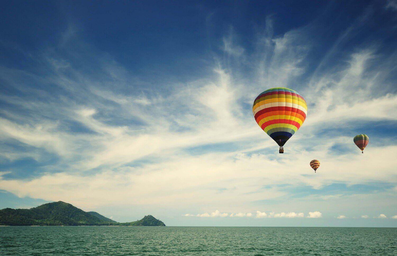 Lot balonem nad zatoką Gdańską dla 2-3 osób