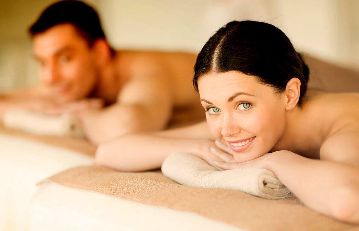 Relaksacja dla Dwojga podczas masażu