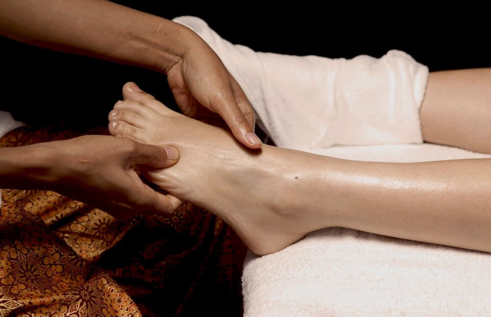 Tajski masaż stóp i nóg - refleksologia