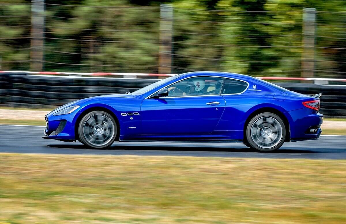 Jazda Maserati - voucher prezentowy na jazdę