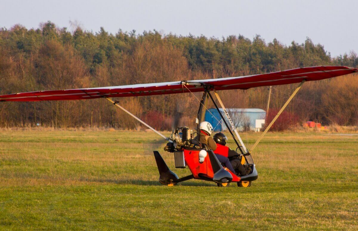 Lot motolotnią w prezencie