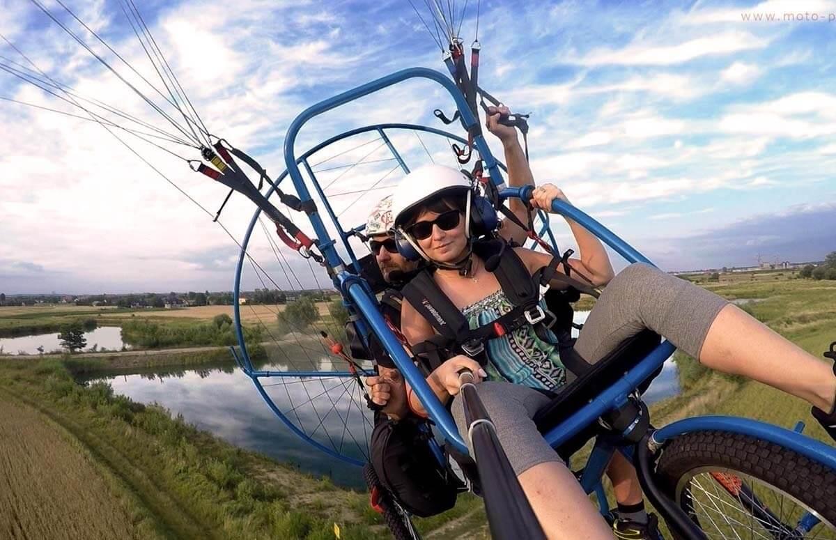 Motoparalotnia - niezapomniany lot nad Krakowem