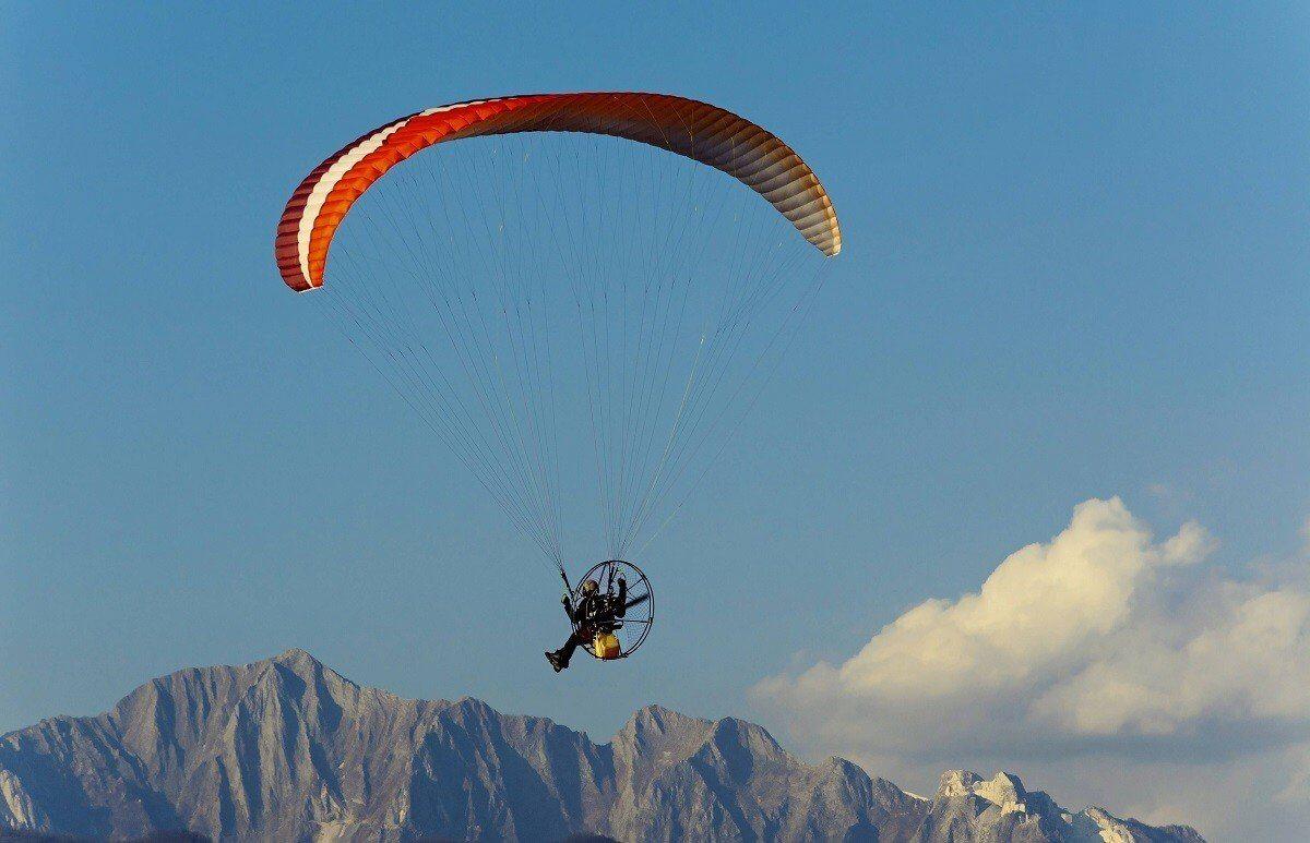 Loty tandemowe na motoparalotni - Zielona Góra