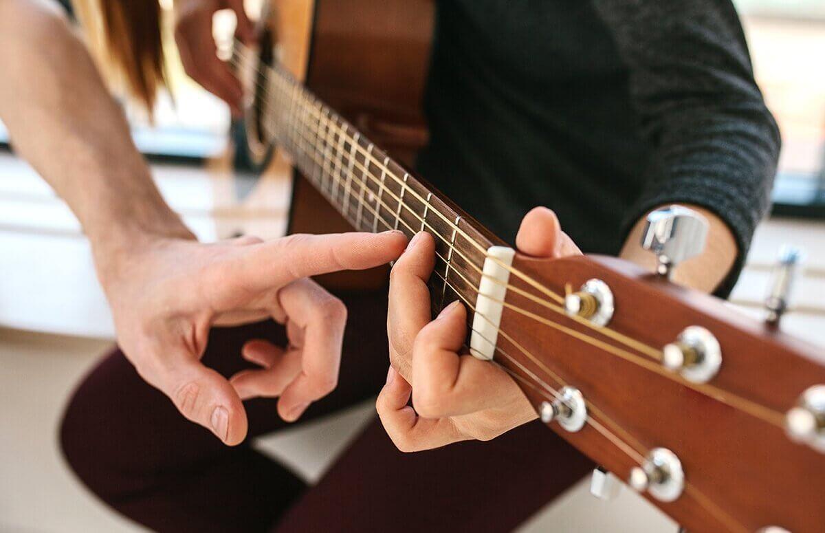 Nauka chwytów gitarowych