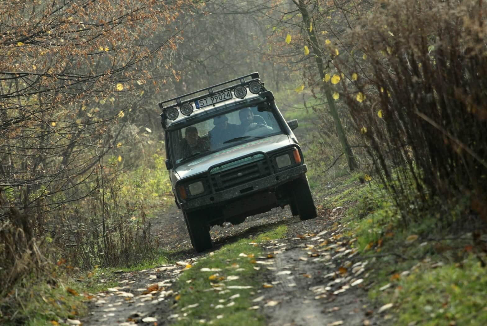 Off-roadowa wyprawa po bezdrożach