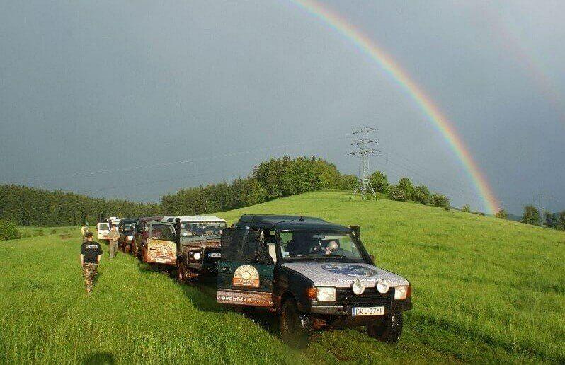 Off-rodowa wyprawa dla 2 osób w Górach Kaczawskich