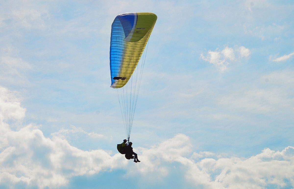 Off-road i lot w tandemie dla 2 osób w górach beskidzkich