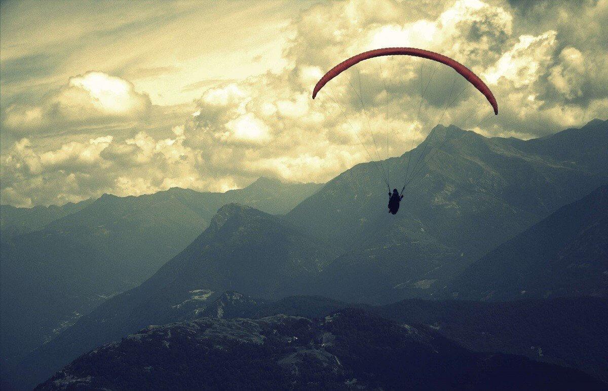 Paralotnia - loty dla 2 osób