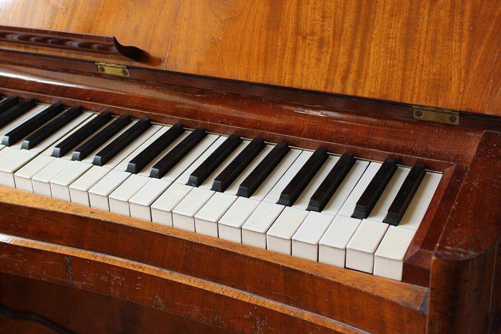 Nauka gry na instrumencie - pianino