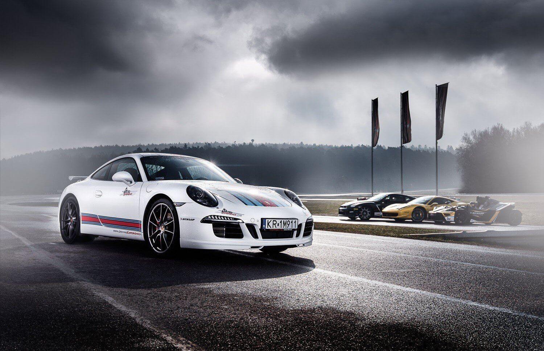 Jazda Porsche na Torze Kielce