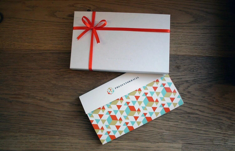 Karta podarunkowa + ozdobne pudełko