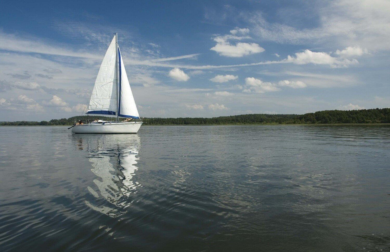 Dzień pod żaglami - Jeziora Mazurskie