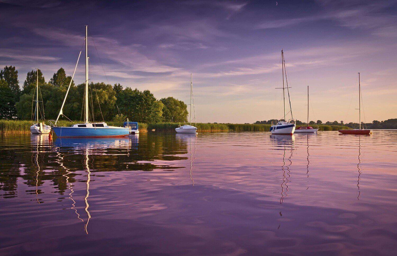Żeglarski weekend na jeziorach Mazurskich
