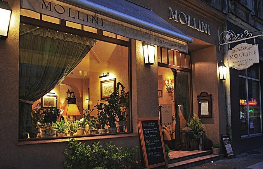 Włoska kolacja dla Dwojga w Restauracji Mollini w Poznaniu