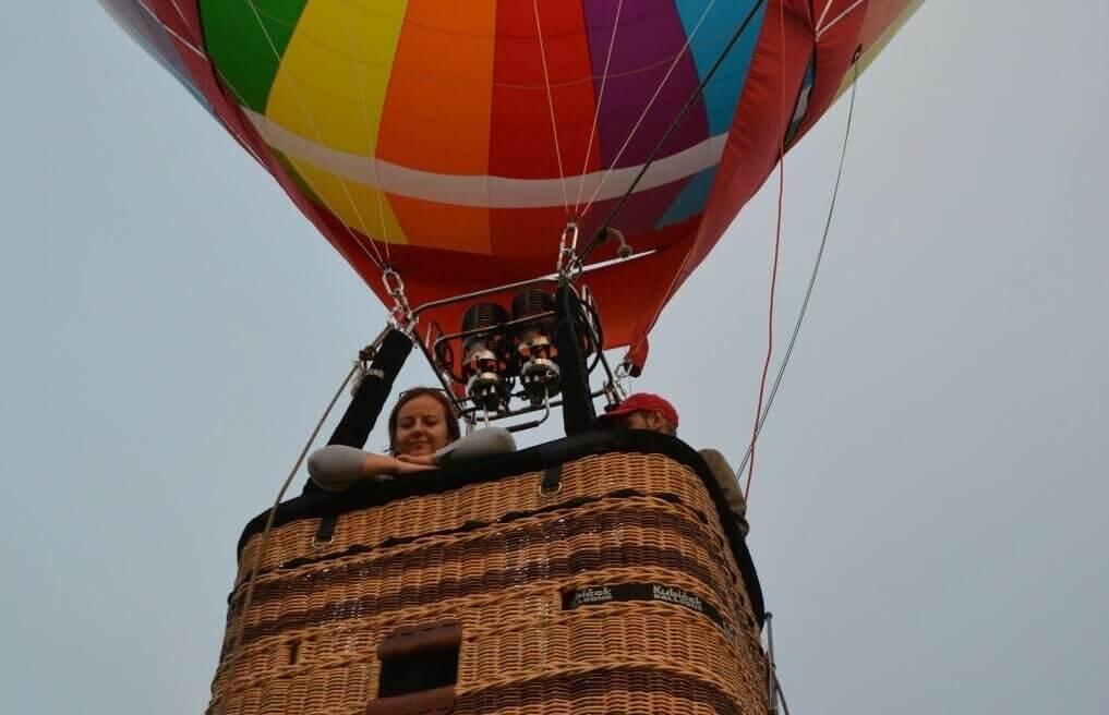 Weeked z lotem balonem - Dolina Pałaców i Ogrodów