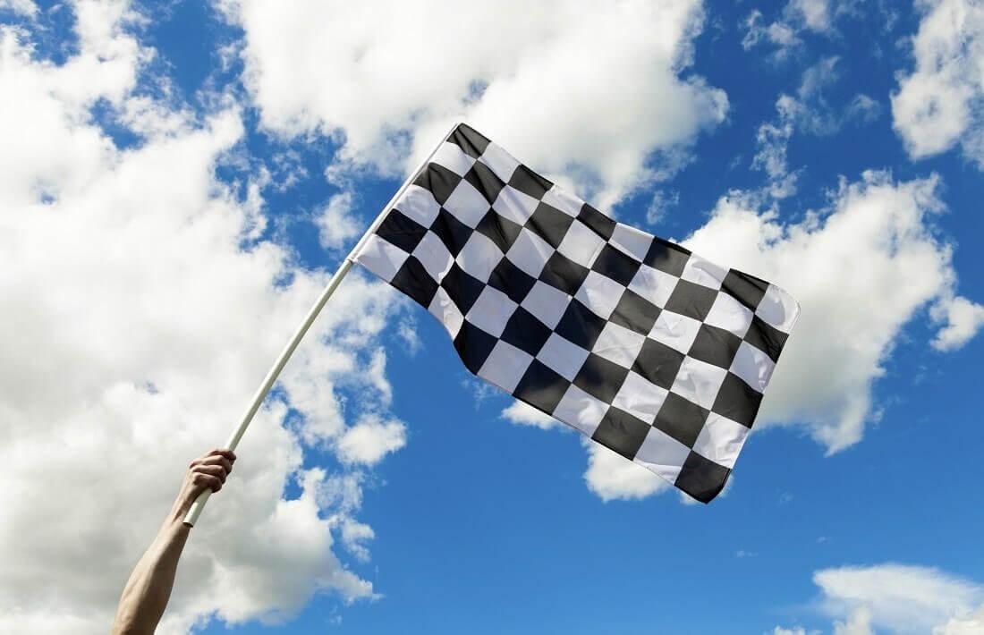 Przejazd rajdowym autem na torze wyścigowym