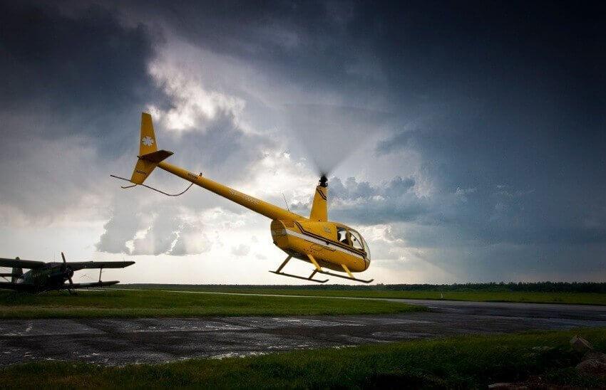Warszawa Modlin - loty helikopterem