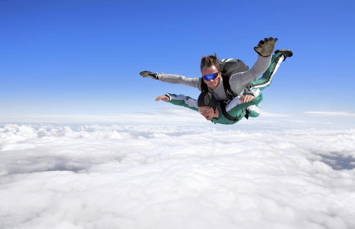 Szkolenie AFF - skocz ze spadochronem