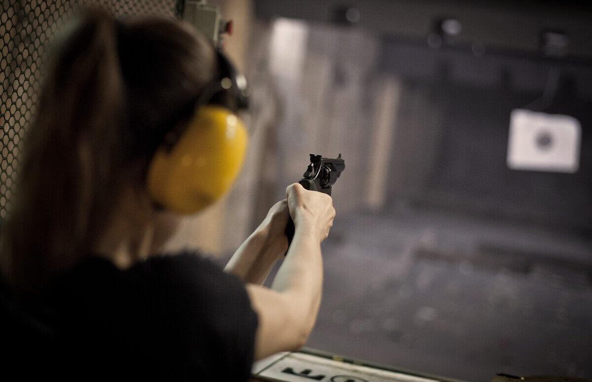 Strzelanie policyjne - Lekcja strzelania w Katowicach 2