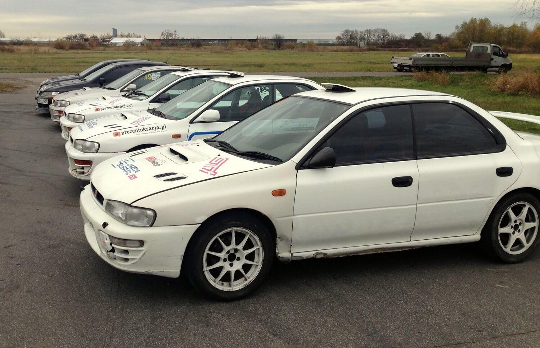 Jazda Subaru dla 2 osób
