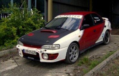 Subaru - trening jazdy