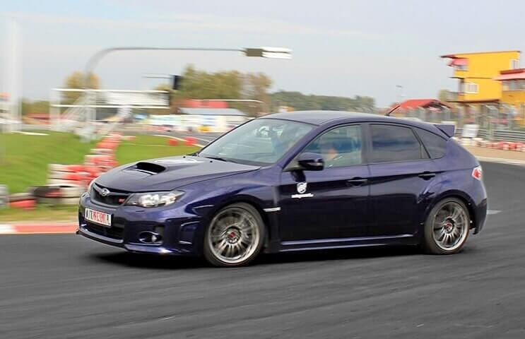 Jazda za kierownicą Subaru Impreza WRX STi