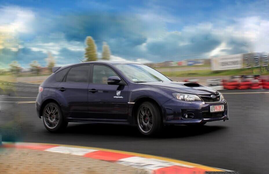Subaru Impreza WRX STi - Jazda po torze