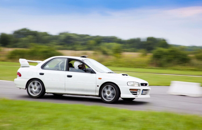 Jazda samodzielna Subaru Impreza STi