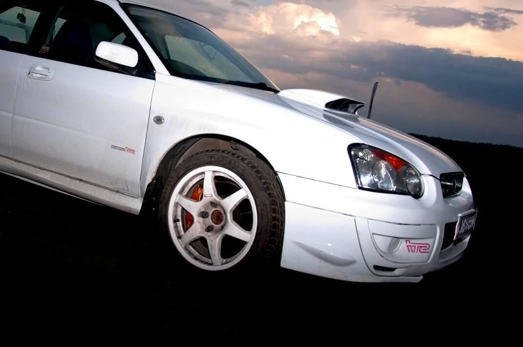 Subaru - poprowadź rajdowe auto