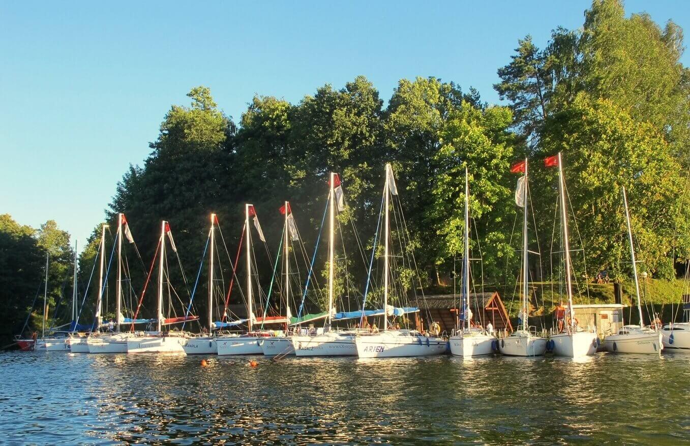 Szkolenie żeglarskie - Jeziora Mazurskie