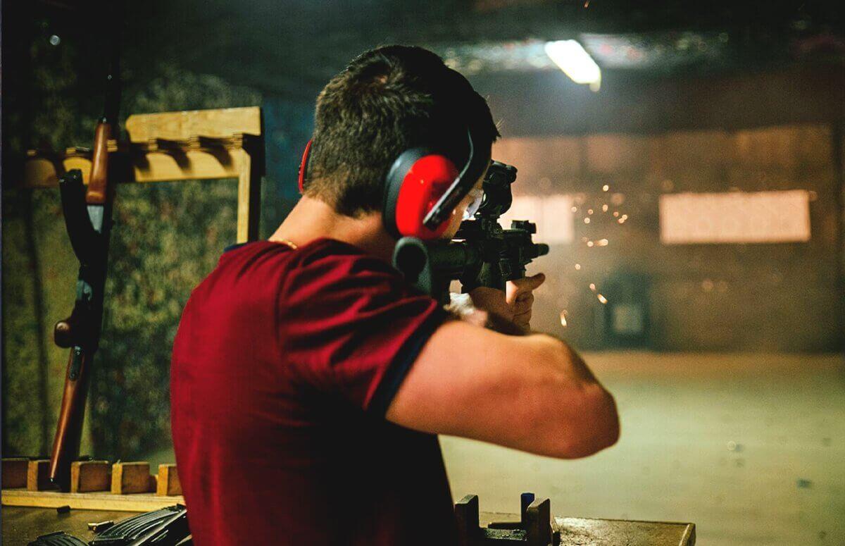 Strzelanie policyjne - Lekcja strzelania w Katowicach 3