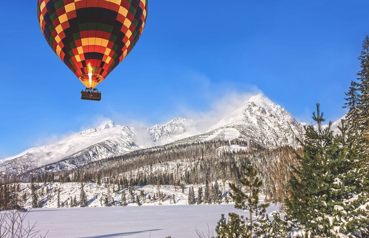 Tatry - Lot balonem nad Zakopanem