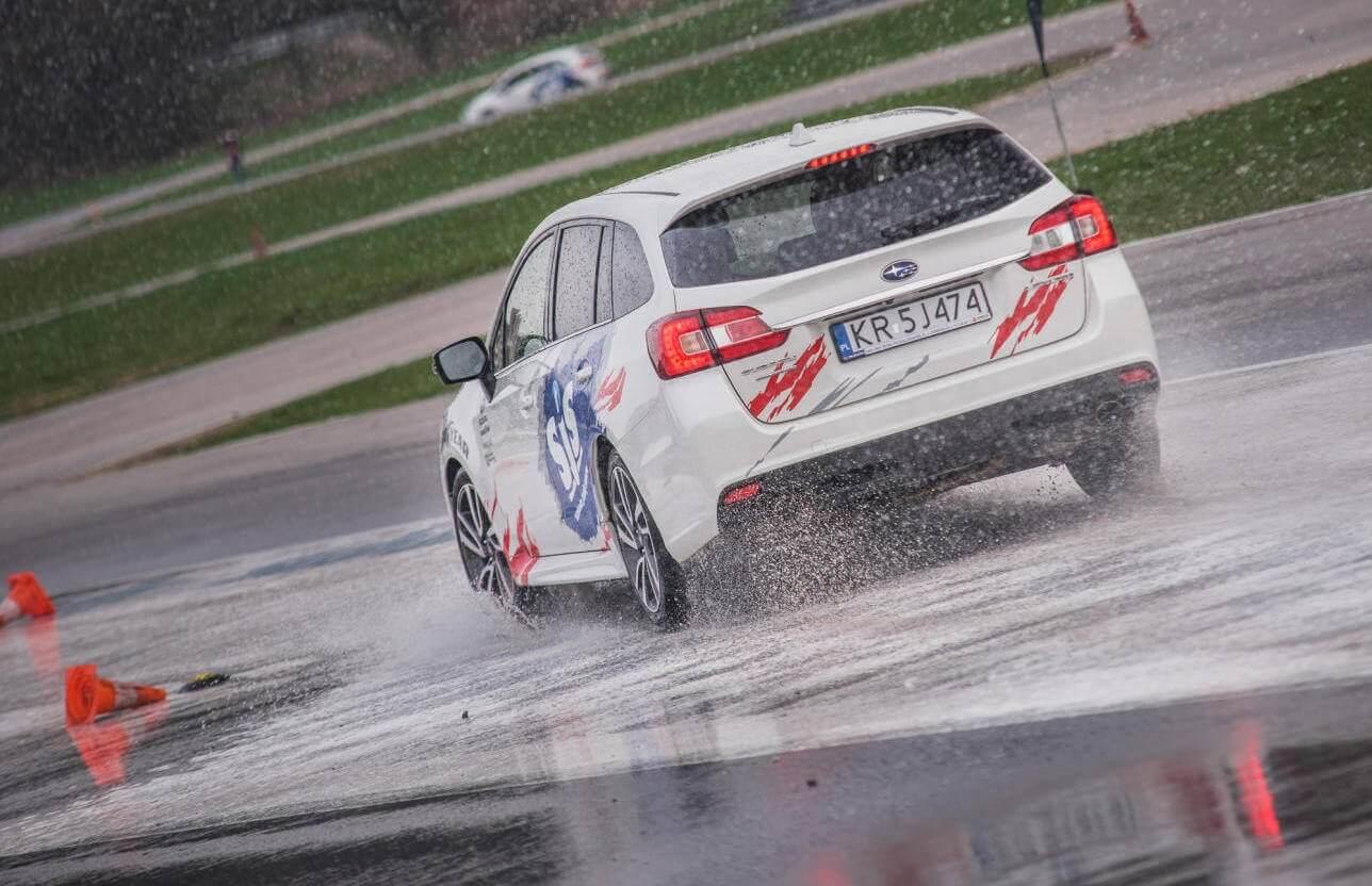 Rajdowy kurs jazdy Subaru