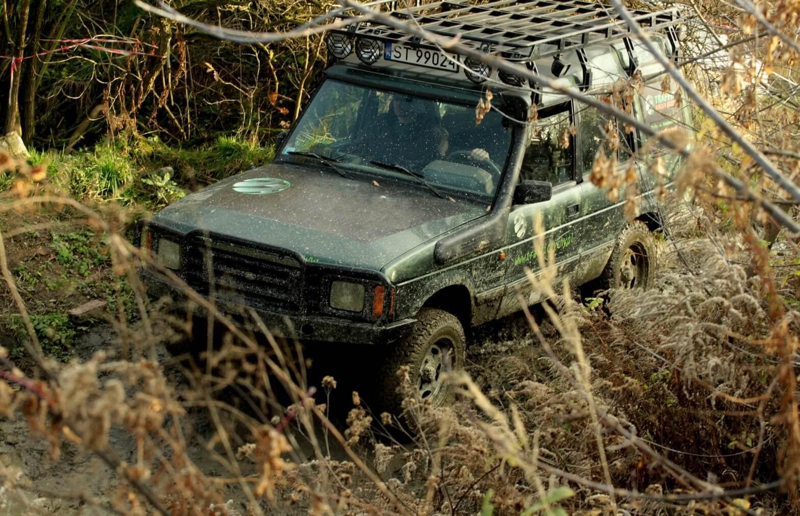Off-road - wyprawa na Śląsk