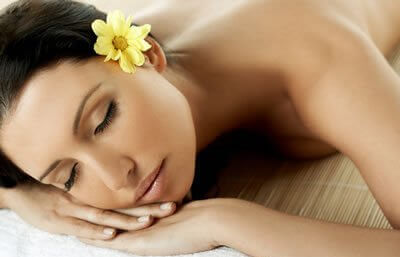 Relaks podczas masażu