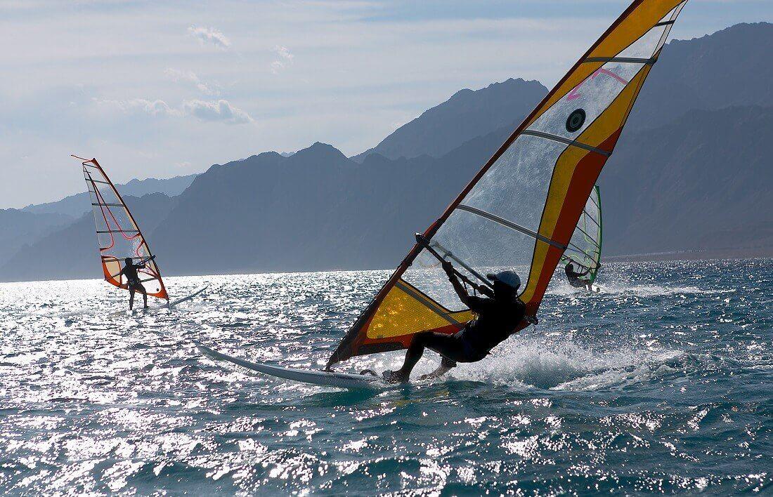 Szkolenie windsurfinowe na Helu