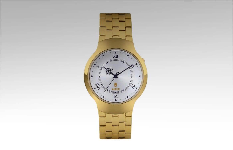Zegarek Dressed na złotej bransolecie
