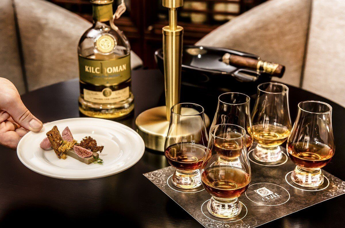 Łódź - degustowanie szkockiej whisky
