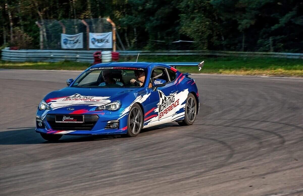 Co-drive Subaru - Drifting na torze