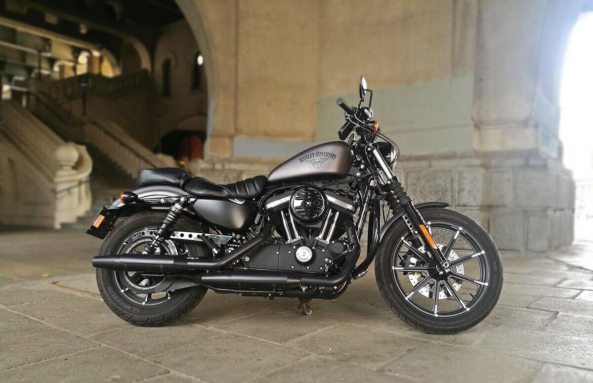 Harley Davidson - Jazda w Warszawie