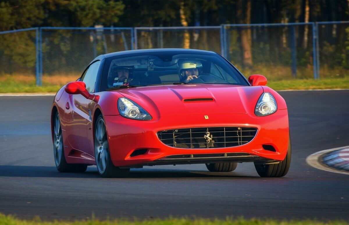 Jazda  Ferrari z kierowcą
