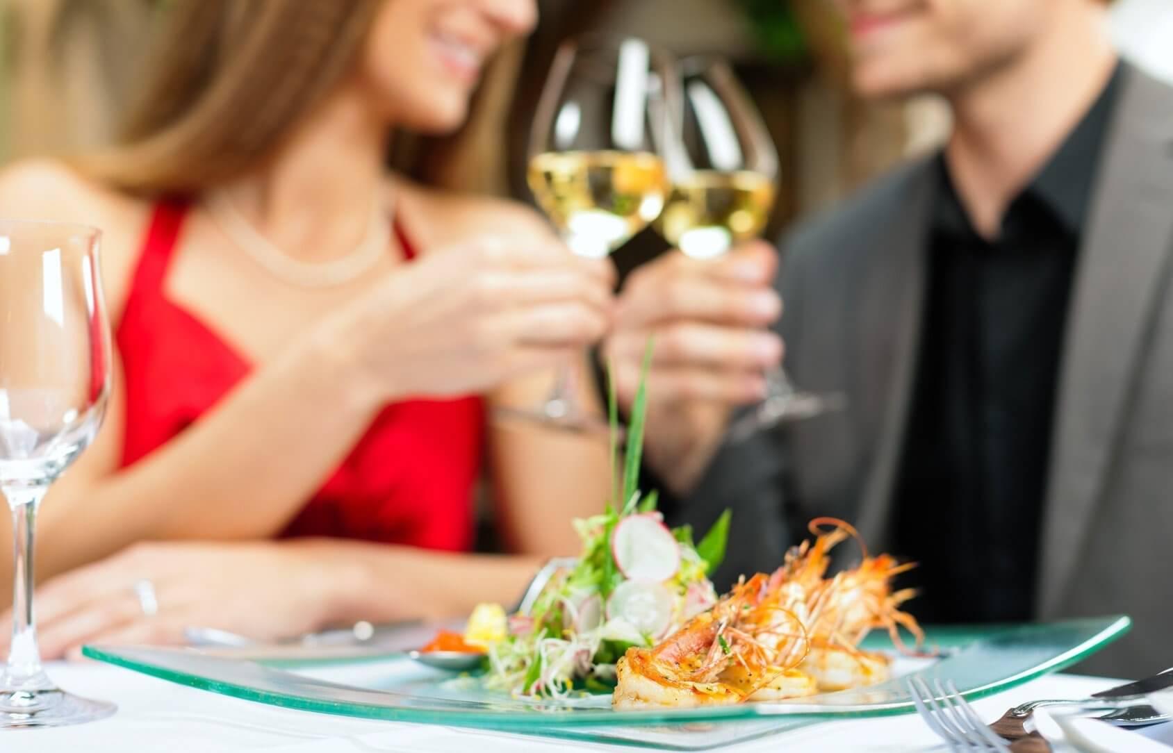 Walentynki - kolacja i wino dla Dwojga