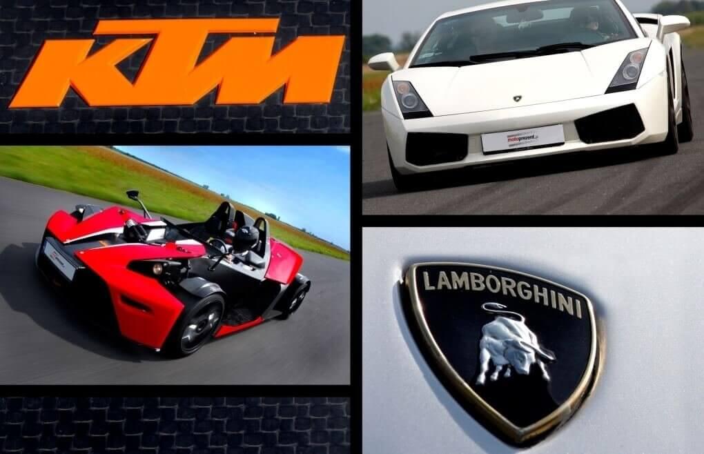 Lamborghini i KTM- jazda na torze - Warszawa, Poznań, Lublin