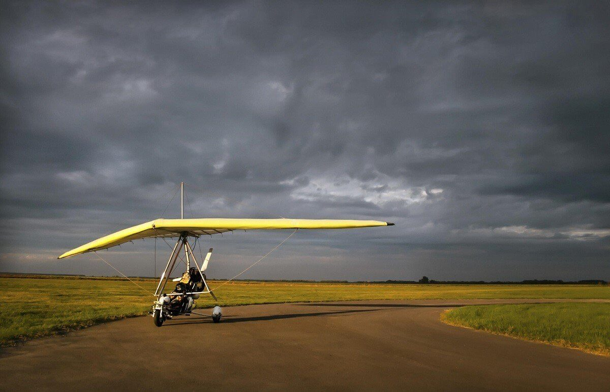 Motolotnia - lot w tandemie