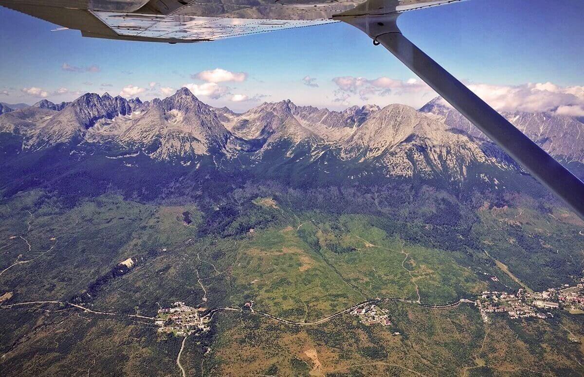 Tatry - lot widokowy dla 2-3 osób
