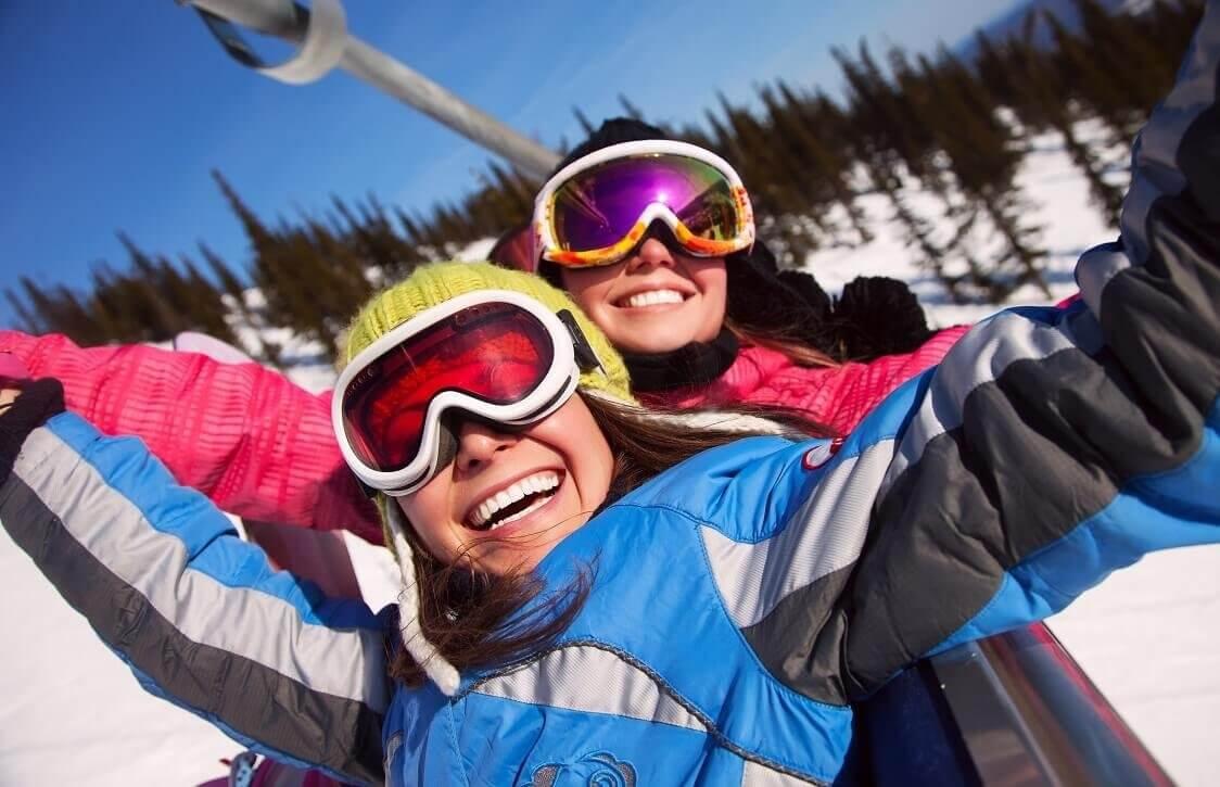 Nauka jazdy na nartach - Góra Żar