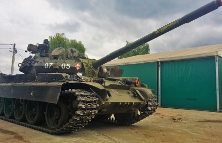 Jazda czołgiem – gratka dla pasjonata militariów