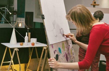 Podstawowy kurs rysunku i malarstwa
