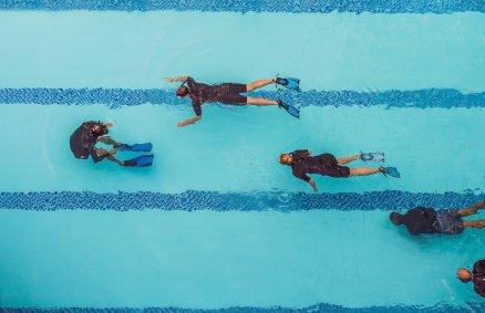 Lekcja nurkowania dla 2 osób